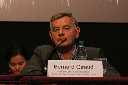 Bernard Giraud, President, Livelihoods Venture