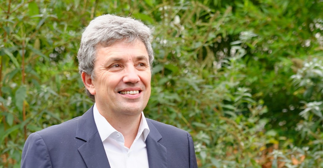 Interview: Gilles Vermot Desroches, Sustainability Director of Schneider Electric explains why his company is offsetting the carbon footprint of the Paris Marathon with a Livelihoods Funds' project