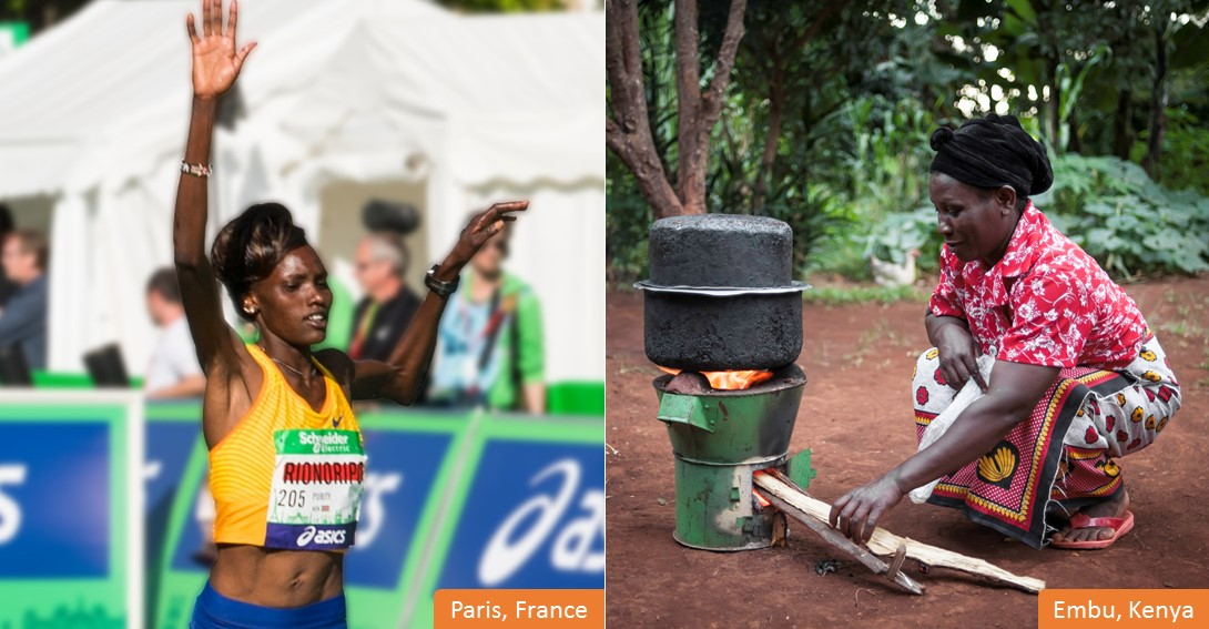 Purity & Janet: two heroes of the Paris Marathon